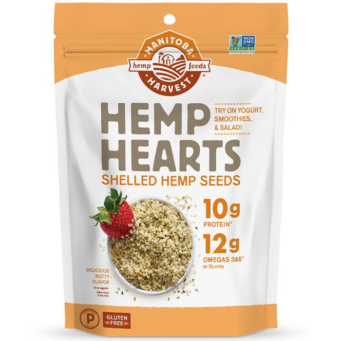 Natural Hemp Hearts Shelled Hemp Seeds, Value Size, 5 lb, Manitoba Harvest Hemp Foods