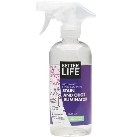 Natural Stain & Odor Eliminator, 16 oz, Better Life Green Cleaning