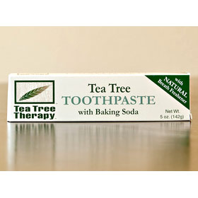 Tea Tree Toothpaste with Baking Soda, 5 oz, Tea Tree Therapy