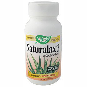 Naturalax 3 with Aloe Vera 100 caps from Natures Way
