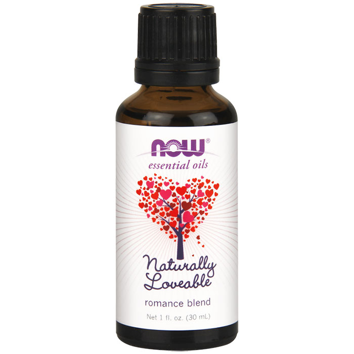 Naturally Loveable Romance Blend Essential Oils, 1 oz, NOW Foods