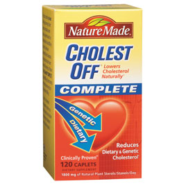 Nature Made CholestOff Complete (Cholest Off Complete), 120 Softgels