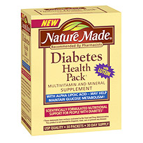 Nature Made Diabetes Health Pack 30 Tablets