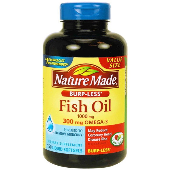 Nature Made Fish Oil Odorless 1200 mg, 150 Softgels - CLICK HERE TO LEARN MORE