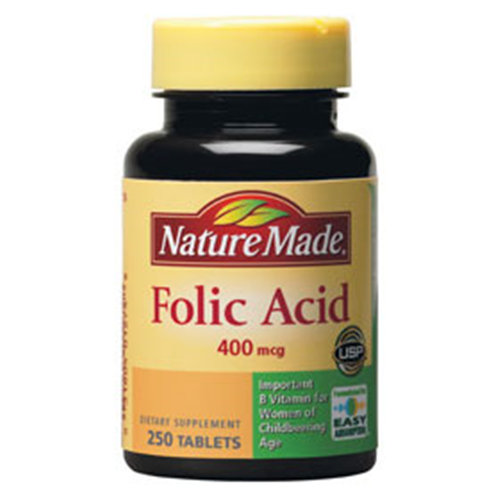 Nature Made Folic Acid 400 mcg, 250 Tablets - CLICK HERE TO LEARN MORE