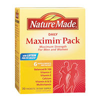 Nature Made Maximin Pack, Maximum Strength For Men and Women, 30 Packets - CLICK HERE TO LEARN MORE