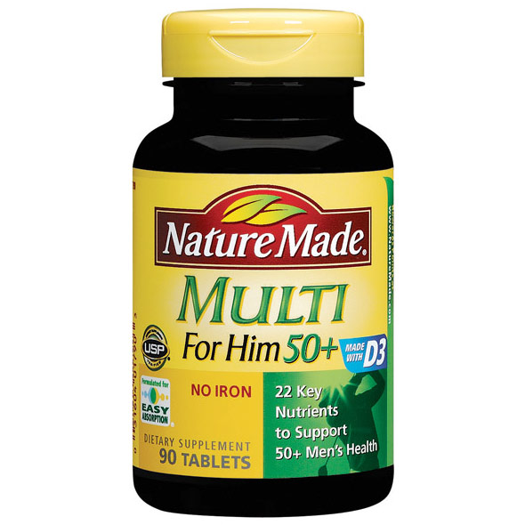 Nature Made Multi for Him Liquid Softgel, 60 Softgels - CLICK HERE TO LEARN MORE