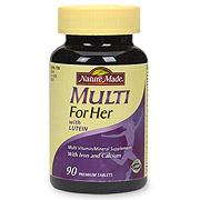 Nature Made Multi For Her, Multi Vitamins & Minerals for Women 90 Tablets