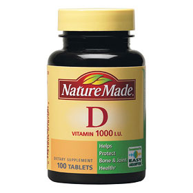 Nature Made Vitamin D 1000 IU, 100 Tablets - CLICK HERE TO LEARN MORE