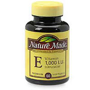Nature Made Vitamin E 1000 IU Dl-Alpha 60 Softgels