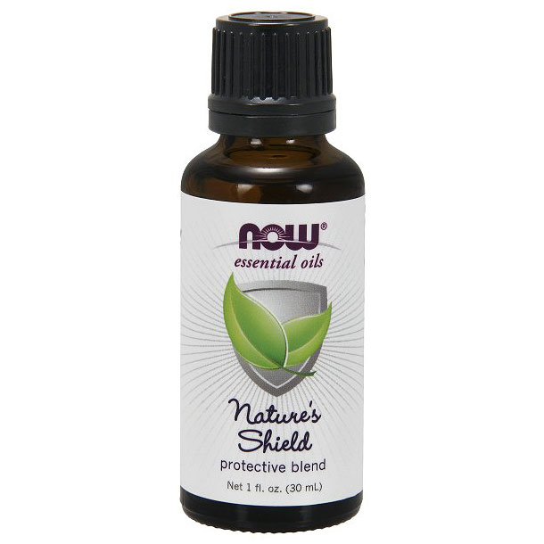 Nature's Shield Essential Oil Protective Blend, 1 oz, NOW Foods