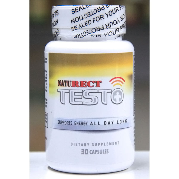 NatuRECT Testo, Energy Support, 30 Capsules