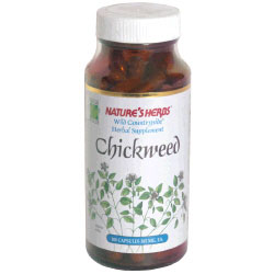 Chickweed 380 mg 100 capsules from Natures Herbs