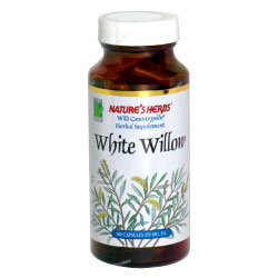 White Willow Bark 100 capsules from Natures Herbs
