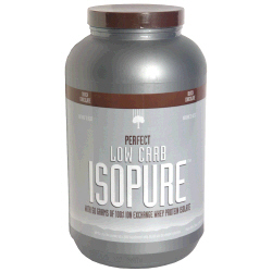 Nature's Best Perfect Low Carb Isopure Protein Powder, Dutch Chocolate, 3 lbs