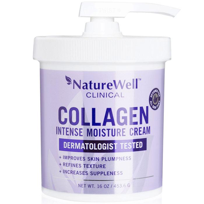 Naturewell Clinical Collagen Intense Moisture Cream, 16 oz