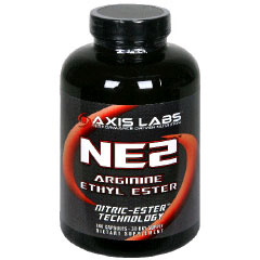 NE2, Arginine Ethyl Ester, 180 Capsules, Axis Labs - CLICK HERE TO LEARN MORE