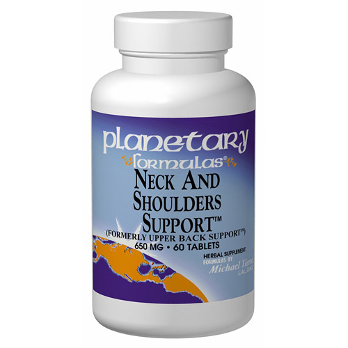 Neck and Shoulders Support 120 tabs from Planetary