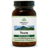 Neem, With Organic Herbs, Blood Cleanse, 90 Vegetarian Capsules, Organic India