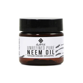 Neem Oil, From Wild Harvested Neem Seeds, 0.8 oz, Alaffia