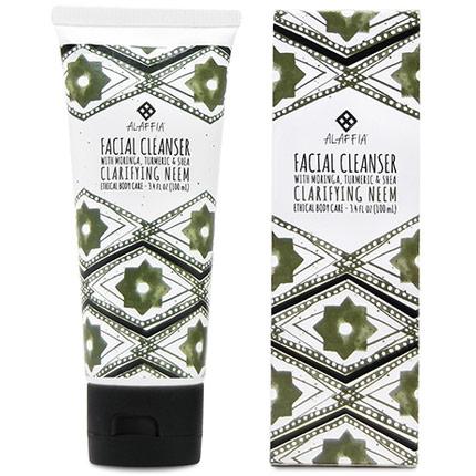 Neem Turmeric Facial Cleanser, 3.4 oz, Alaffia