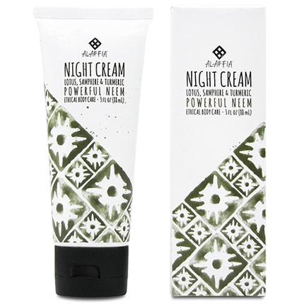 Neem Turmeric Night Cream, 3 oz, Alaffia