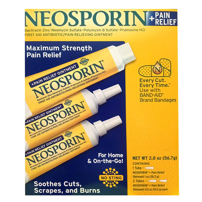 Neosporin First Aid Antibiotic Ointment Twin Pack 2x1oz.