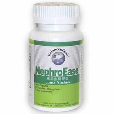 NephroEase, Herbal Kidney Formula, 60 Capsules, Balanceuticals