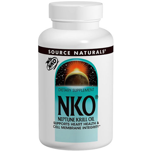 Neptune Krill Oil NKO 1000 mg, 60 Softgels, Source Naturals