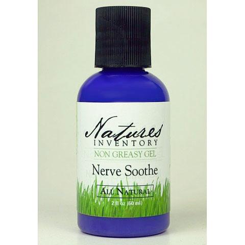 Nerve Soothe Gel, 2 oz, Natures Inventory