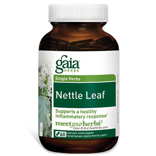 Nettle Leaf, 60 Liquid Phyto-Caps, Gaia Herbs