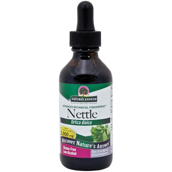 Nettles (Nettle Leaf) Extract Liquid 2 oz from Natures Answer