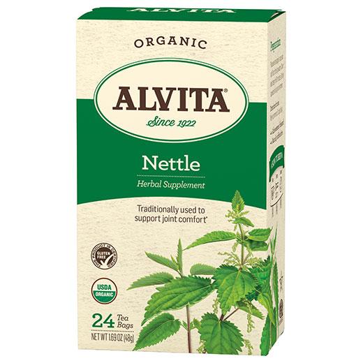 Nettle Leaf Tea Organic, 24 Tea Bags, Alvita Tea