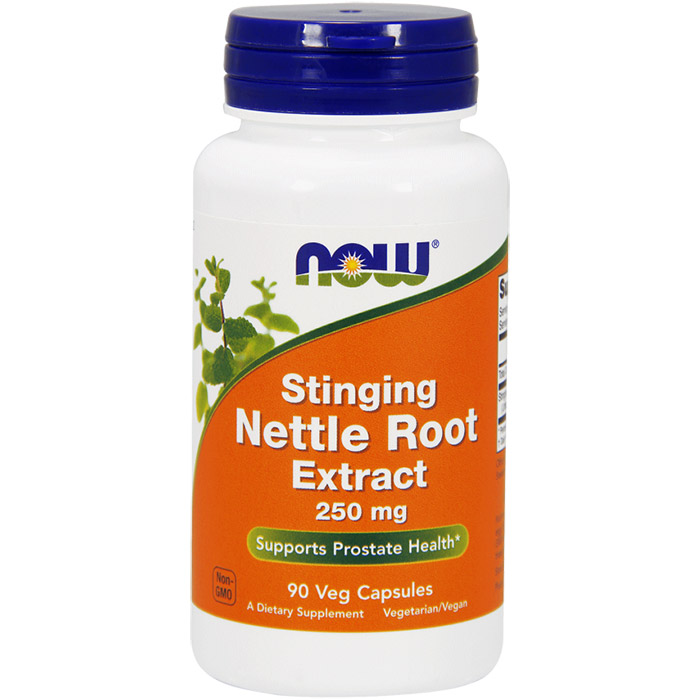 Stinging Nettle Root Extract 250 mg, 90 Vegetarian Capsules, NOW Foods