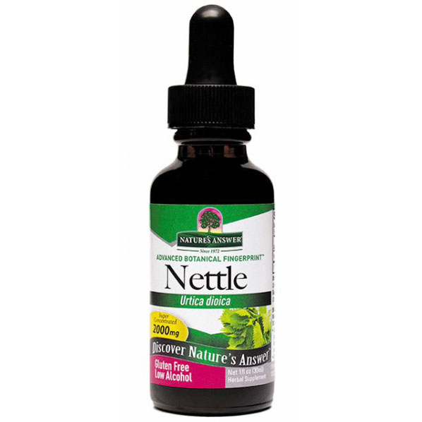 Nettles (Nettle Leaf) Extract Liquid 1 oz from Nature's Answer