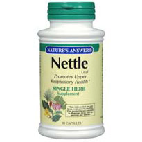 Nettles (Nettle Leaf) 90 caps from Natures Answer