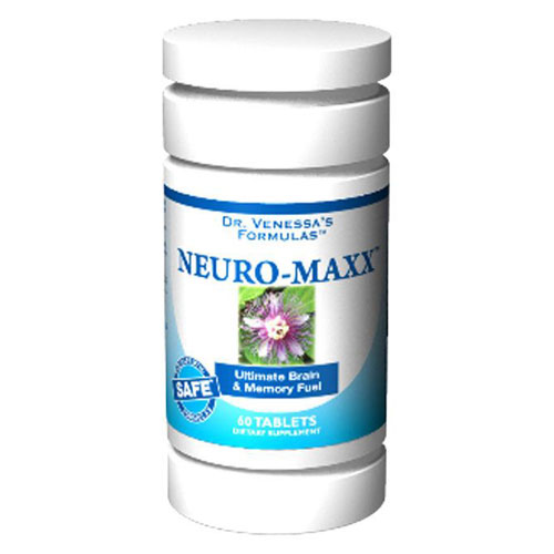 Neuro-Maxx, 60 Tablets, Dr. Venessa's Formulas - CLICK HERE TO LEARN MORE