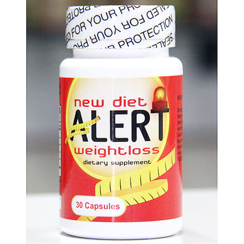 New Diet Alert Weight Loss Dietary Supplement, 30 Capsules