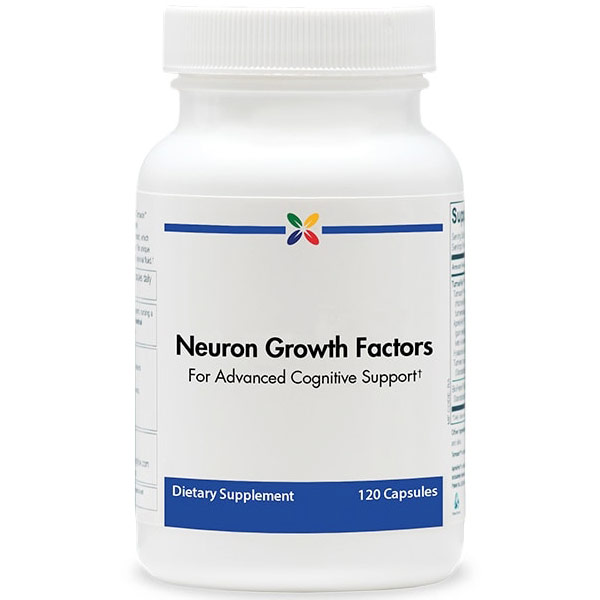 Neuron Growth Factors (NGF), Advanced Cognitive Support, 120 Capsules, Stop Aging Now