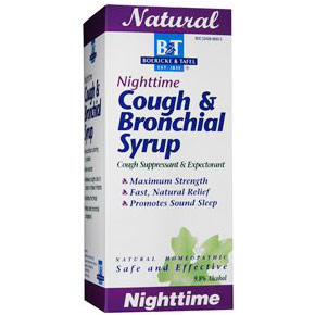 Nighttime Cough & Bronchial Syrup, 8 oz, Boericke & Tafel Homeopathic