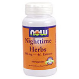 Nighttime Herbs 500mg 100 Caps, NOW Foods
