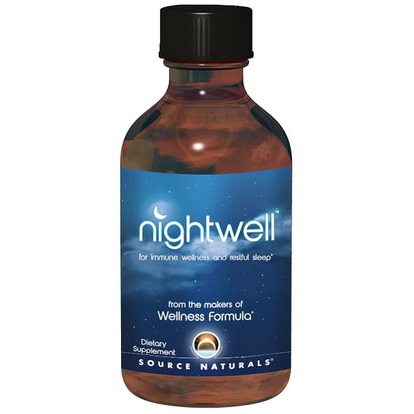 NightWell, Liquid Sleep & Immune Formula, 4 oz, Source Naturals
