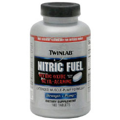 Nitric Fuel, Dual Layer Tabs, 180 Tablets, TwinLab - CLICK HERE TO LEARN MORE