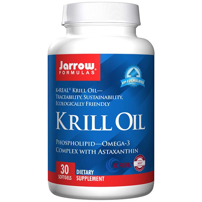 Krill Oil PhosphOmega, 30 Softgels, Jarrow Formulas