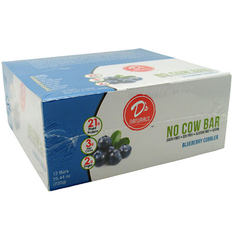 No Cow Bar, best vegan protein bars