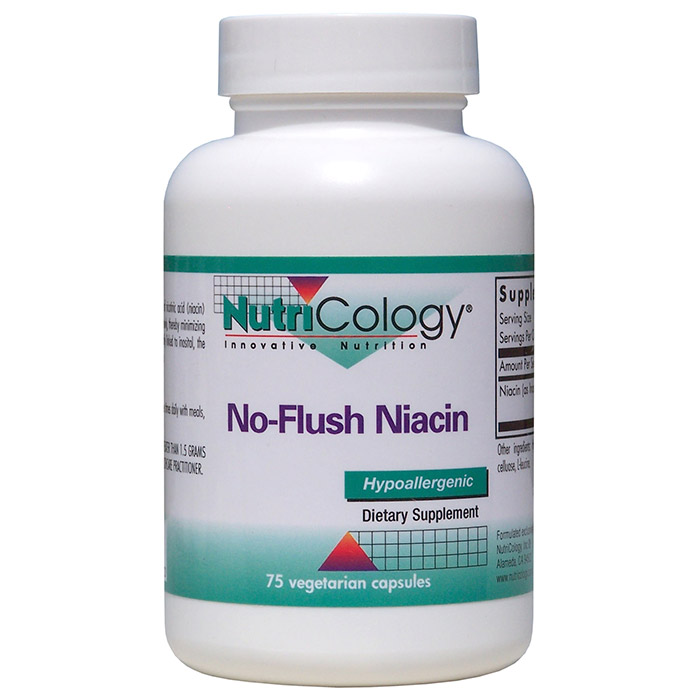 No-Flush Niacin 430mg 75 caps from NutriCology