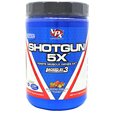 Shotgun 5X, Ignite Muscle Genes 5X, 28 Servings, VPX Sports