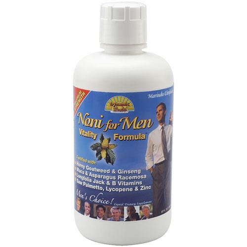 Organic Noni Juice Vitality Formula for Men, 32 oz, Dynamic Health Labs