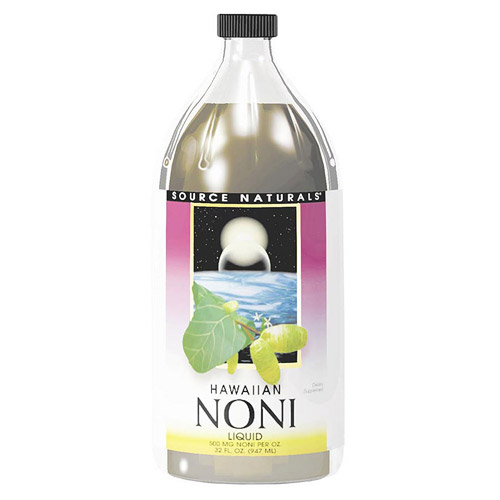 Noni from Hawaii Morinda citrifolia 375mg 60 caps from Source Naturals