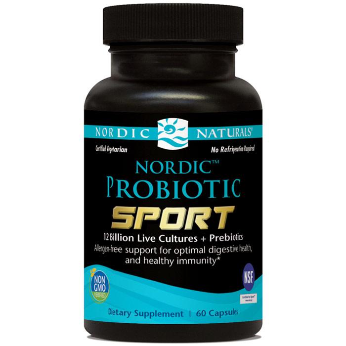 Nordic Probiotic Sport, 60 Capsules, Nordic Naturals